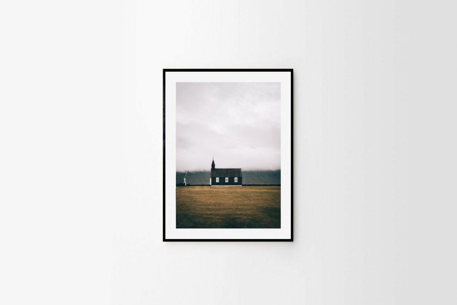 Czarny kościół Búðir