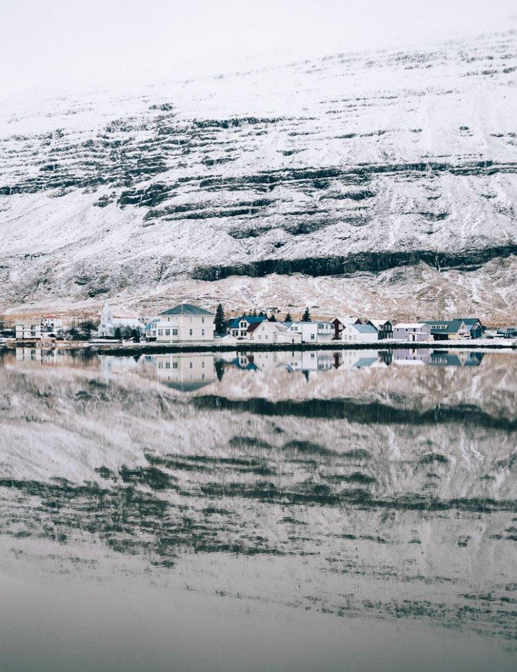 Winter in Seyðisfjörður
