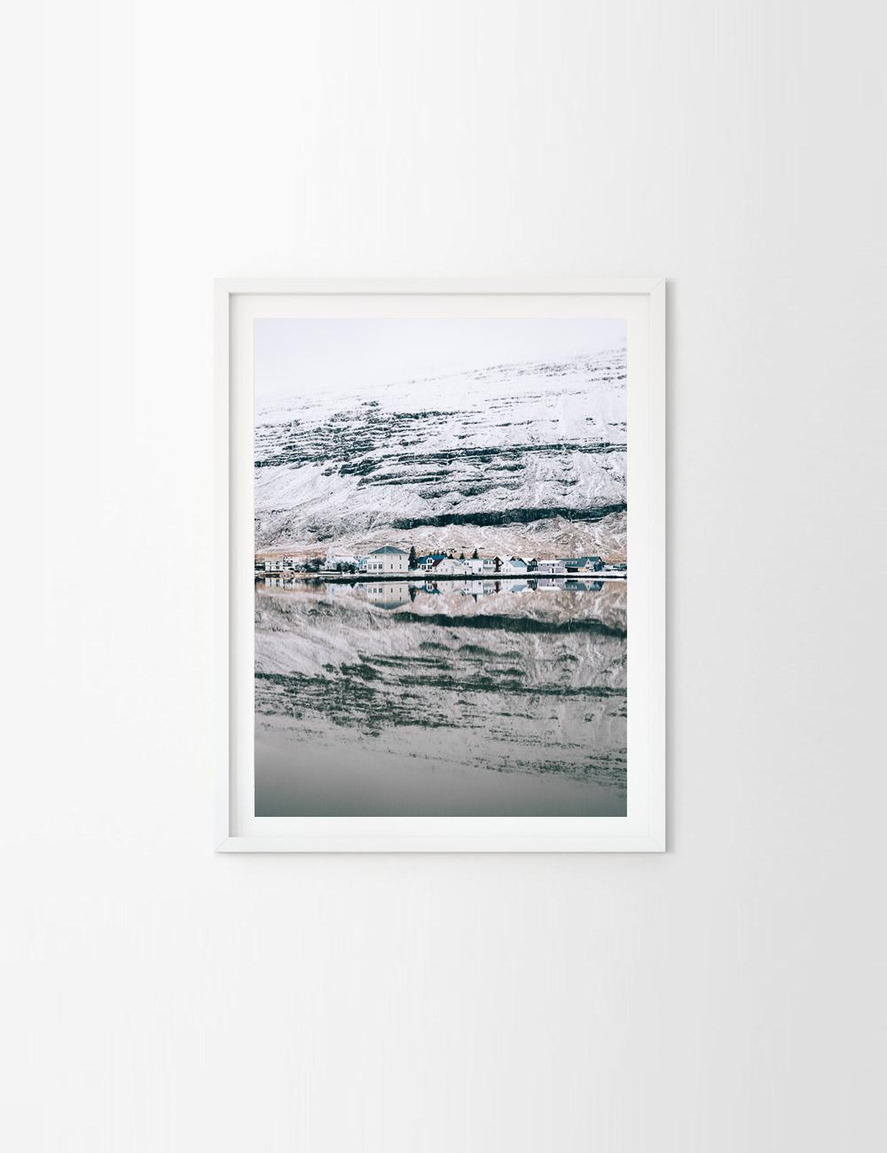 2fd618db5ea Winter Print  Seyðisfjörður